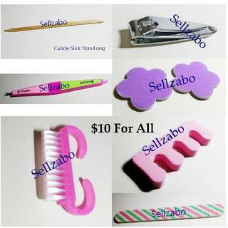 $10 Tools Bundle : Nails Finger Fingernails Toes Manicure Pedicure Care Grooming Sellzabo