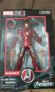 ON HAND: Marvel legends: marvel studios 10th anniversary iron man mark 7