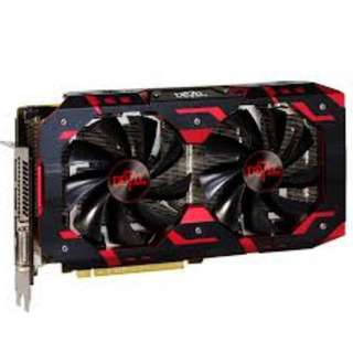 AXRX 580 8GBD5-3DHG/OC 3YRS	POWERCOLOR RED DEVIL RX580 8GD5 GOLDEN EDITION(3Y)