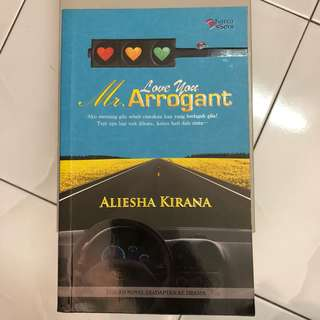 Novel - Love You Mr. Arrogant