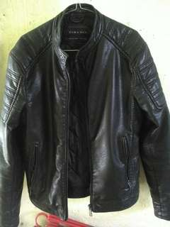 Original zara leather jacket