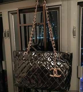 Chanel 漆皮中古袋