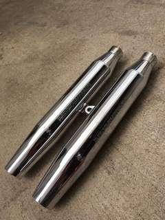 Harley Davidson XL sportster stock pipe.
