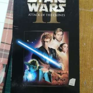 Star Wars Attack of the Clones DVD Collectors Item