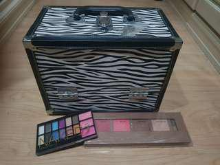 Bundle of Imported Make-Up Train from Canada& Naked EyeShadow