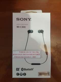 Sony耳機(WI-C300)