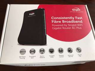 BNIB Wifi Gigabit Router - AC plus