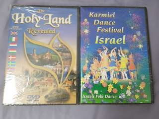 Israel holy land revealed DVD (Brand new)