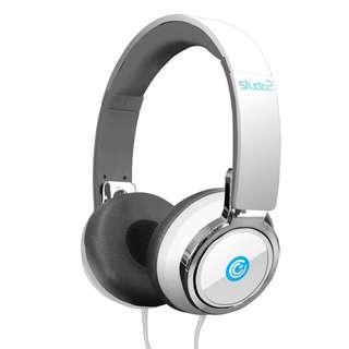 Sonic Gear Studio 2 White Headphone