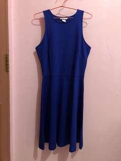 H&M Blue Casual Dress