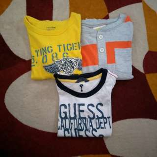 Guess & Baby Gap & Crazy8 Tshirt