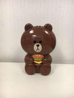 Line 熊大 風扇