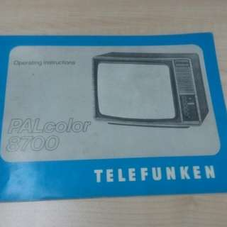 manual tv telefunken,Sharp VHS player