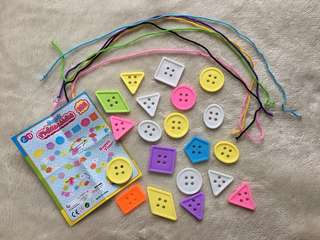 Lacing Activity for Toddlers