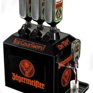 Jagermeister 3 Bottle Tap Machine