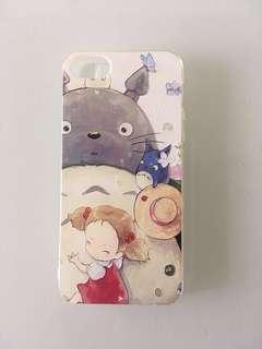 iPhone 5/se 龍貓 矽膠手機殼 全新
