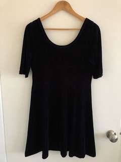 Dangerfield Velvet Dress