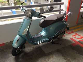 Vespa Primavera 150cc ABS LOW mileage