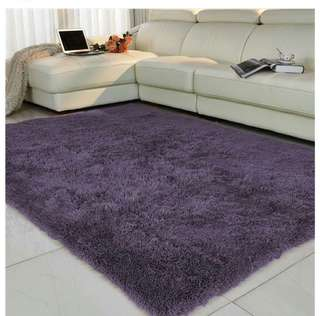 KARPET BULU KOREA BERWARNA UK 200X100CM PREMIUM