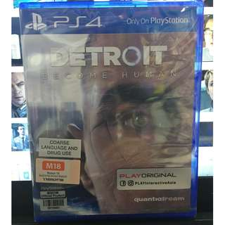 BRAND NEW DETROIT BECOME HUMAN