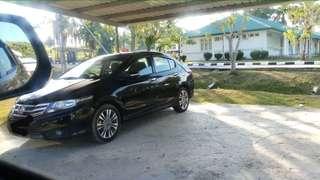 2014 Honda City (A) Black