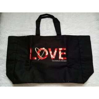 Victoria's Secret LOVE Large Tote Bag