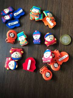🚚 South park brooch pins pvc