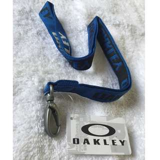 Original Oakley Standard Lanyard Blue
