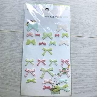Ribbon Felt Stickers