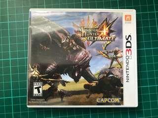🚚 3DS Monster Hunter 4 Ultimate