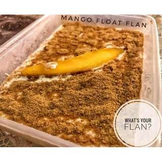 Mango Float Flavored Leche Flan