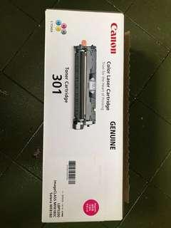 Canon toner cartridge 301 , Magenta