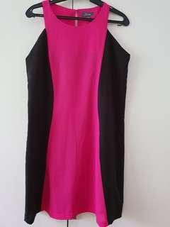 Black/Pink semi formal dress