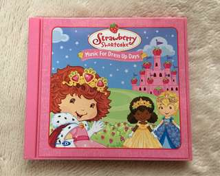 Strawberry Shortcake Music for Dress Up Days Audio CD