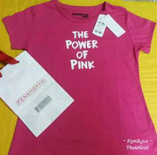 branded penshoppe t-shirt for woman