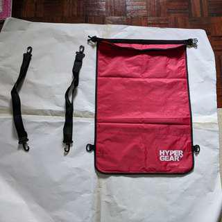 New Original Waterproof Hypergear Red Flat Bag 40L