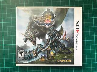 🚚 Monster Hunter 3 Ultimate