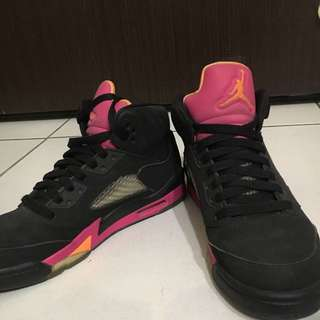 🚚 NIKE AIR JORDAN 5 RETRO佛羅里達 女鞋