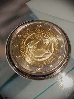 安道爾 Andorra 25周年 2 歐元(已包裝)