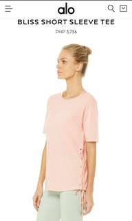 Alo Yoga Bliss Lace Top
