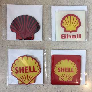 Limited Edition Shell Heritage Fridge Magnet (4 units)