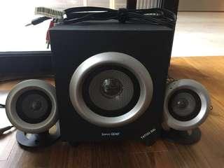 SonicGear Speakers