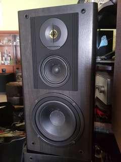 MADE IN JAPAN  /  KENWOOD LS-505M  3 way speaker . HIGH END speaker .