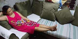 Sofa set with 7 pcs throw pillows