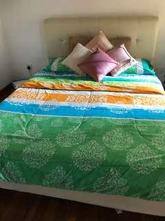 King size AC comforter/ duvet