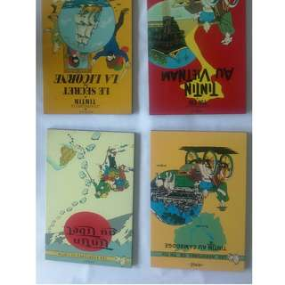 Tin Tin lacquered covers