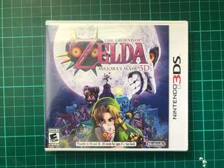 🚚 Legend of Zelda: Majora's Mask 3D