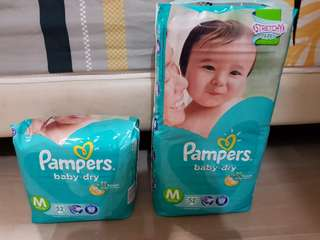 Pampers Baby Dry M52