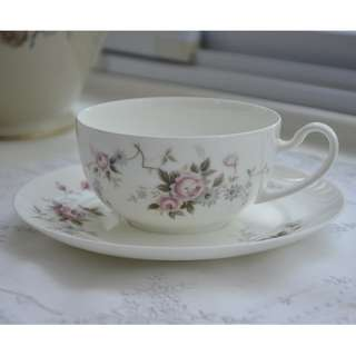 Vintage Nittoroyal Bone China Teaset ,Pink Rose ,#N2