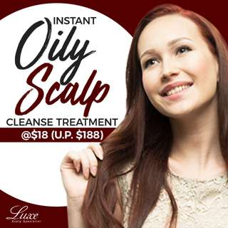 Instant Oily Scalp Cleanse Treatment